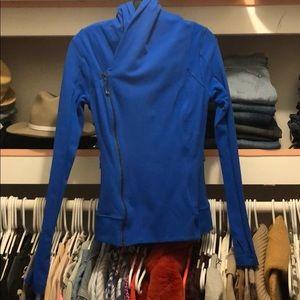 Lululemon asymmetrical zip jacket size 6